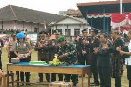 Bupati Sanggau sampaikan peran TNI