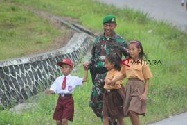 TNI perbatasan siap menjaga NKRI