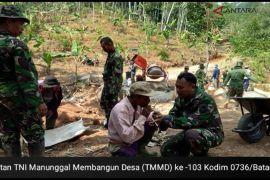 Koramil 01/Subah gelar TMMD Ke- 103