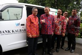 Bank Kalbar launching 10 unit mobil SimPel