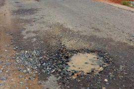 Masyarakat Seluang keluhkan jalan rusak