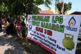 Pertamina  gelar Operasi Pasar 19.600 tabung elpiji subsidi