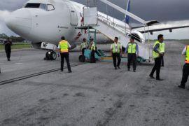 Insiden pecahnya ban pesawat Sriwijaya sempat ganggu penerbangan di Supadio Pontianak