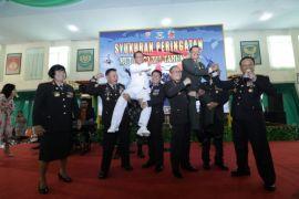 Kapolda Kalbar menghadiri HUT ke-73 TNI