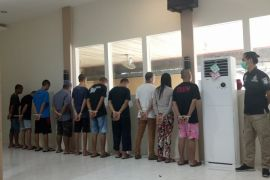 Polres Sintang amankan 10 pengedar narkoba