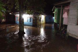 Banjir di Badau mulai surut