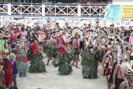 Pesta Ritual Hudoq Nebeeq Kaltim