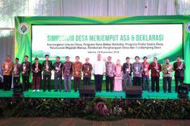 Bupati Kayong Utara terima penghargaan desa terbaik