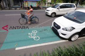 Fungsi jalur sepeda belum maksimal