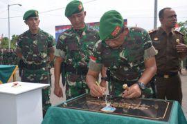 Pangdam resmikan Batalyon 645 Garda Tama Yudha