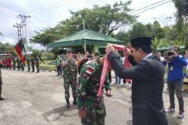 Satgas Pamtas RI - Papua Nugini kembali ke Kapuas Hulu