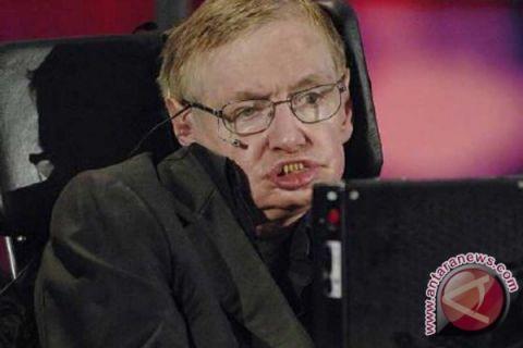 Suara Stephen Hawking dipancarkan ke luar angkasa