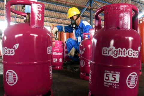 Pemakaian bright gas di Kalbar naik 167 persen