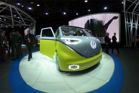 Penerus VW Kombi akan dibekali bermacam teknologi canggih