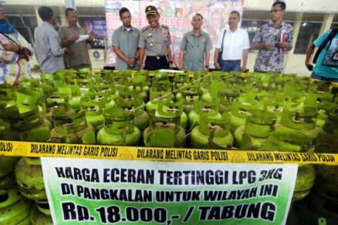 Polisi sita tabung LPG 3Kg