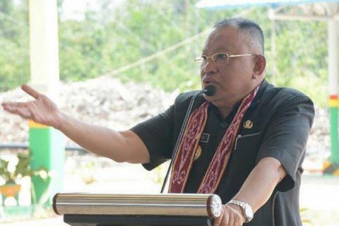 Rusman Ali silahturahmi dengan masyarakat