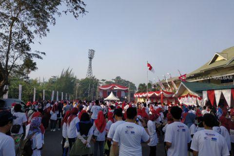 Ribuan peserta ramaikan jalan sehat BUMN Hadir untuk negeri