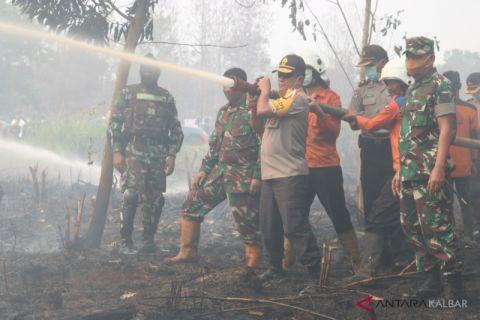 Pangdam perintahkan tangkap pembakar lahan