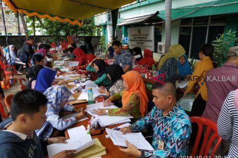 Pelamar CPNS di Kabupaten Sambas 6.646 orang