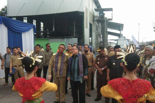 Menteri PPN/Bappenas resmikan pembangkit listrik Tenaga Biomassa