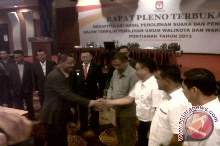 KPU Tetapkan Sutarmidji-Edi Pemenang Pilkada Pontianak
