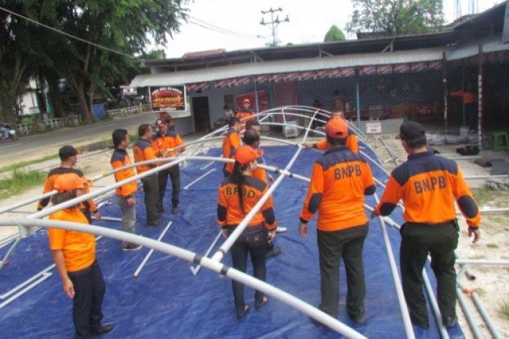 BPBD Kabupaten Kayong Utara dirikan posko siaga banjir
