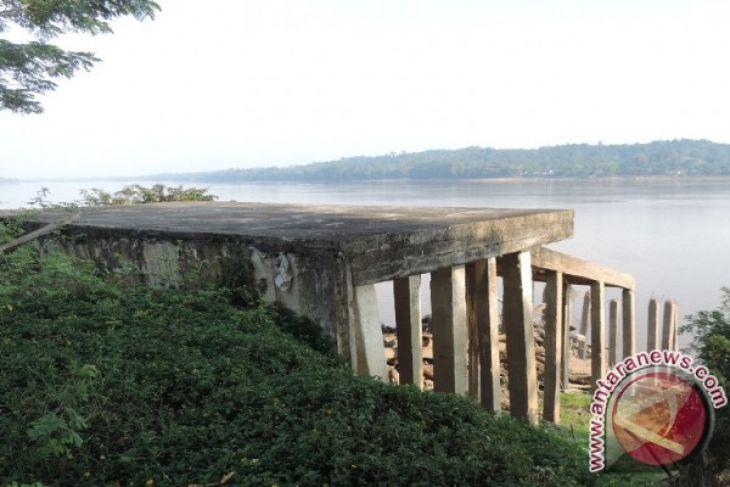 Dishubkominfo Sanggau Hentikan Pembangunan Dermaga di Tanjung Kapuas