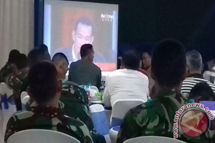 Polres Sanggau Gelar Nobar ILC - ANTARA News Kalimantan Barat