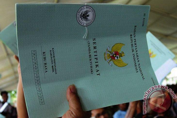 BPN Sambas akan serahkan 12 ribu sertifikat