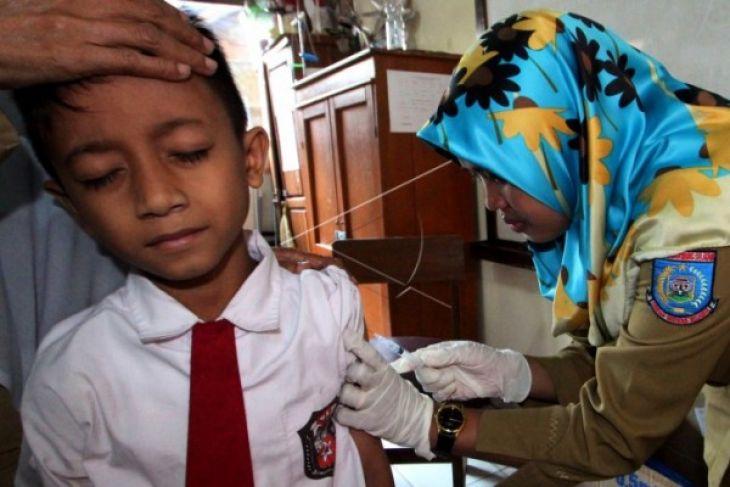 Singkawang Laksanakan Imunisasi Campak Dan Rubella Tahun 2018
