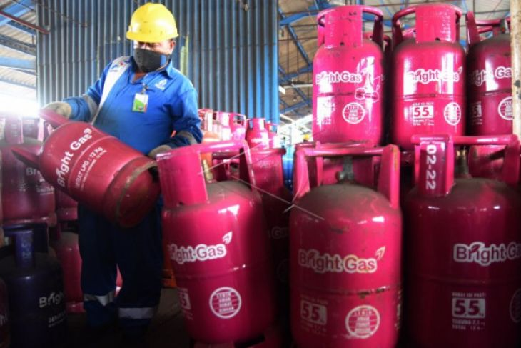 Use of bright gas in West Kalimantan increases 183 percent