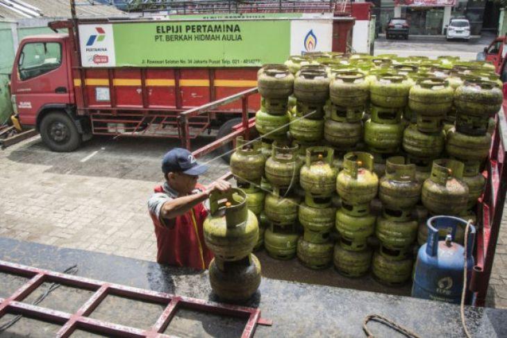 Pertamina siapkan 28.560 tabung elpiji bersubsidi antisipasi peningkatan permintaan