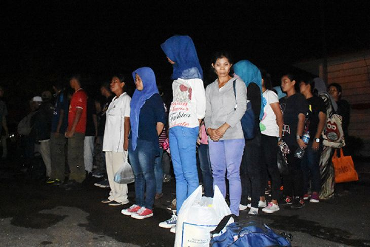 Malaysia Pulangkan TKI