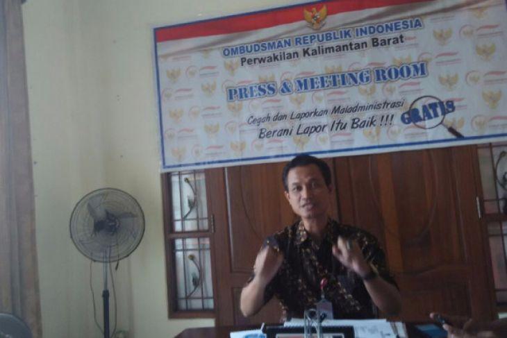 Ombudsman Kalbar buka gerai pengaduan di disdukcapil Pontianak