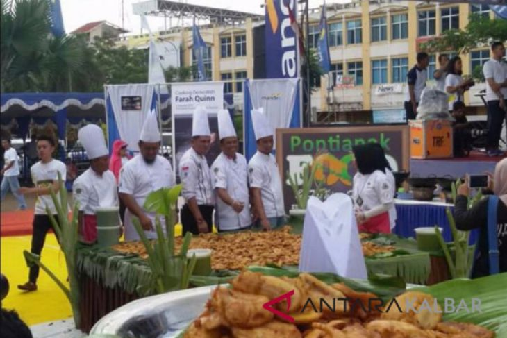 Pontianak food festival digelar