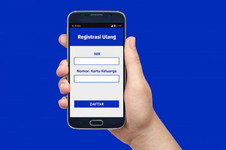 Gerai XL dipadati pelanggan seiring berakhirnya masa registrasi