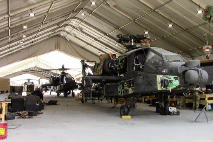 TNI terima delapan Helikopter Apache buatan AS