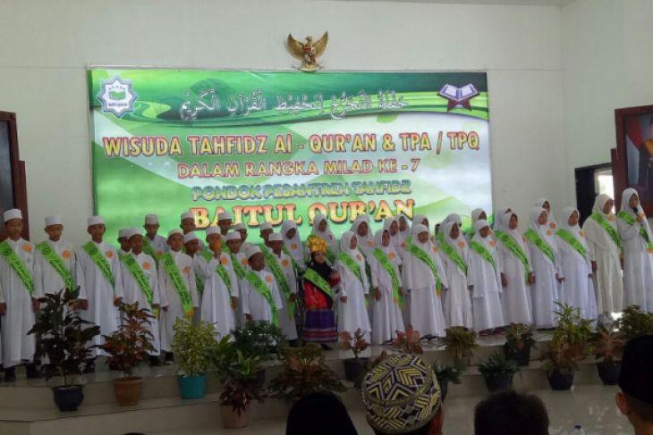 Ponpes Tahfidz Baitul Qur'an wisuda 200 santri