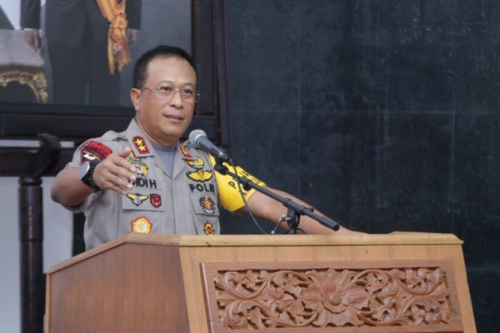 Kapolda Kalimantan Barat ajak santri cegah karhutla-narkoba