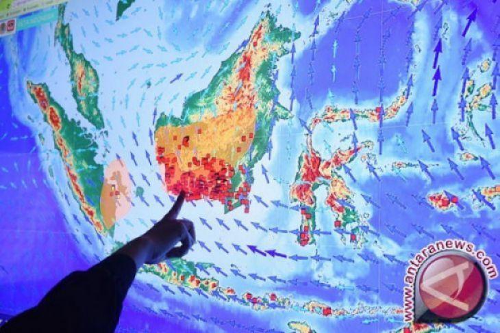 BMKG Mempawah prediksi di Kalbar muncul titik panas