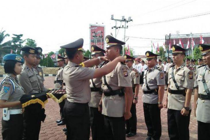 Ini perwira Polres Sanggau yang dimutasi