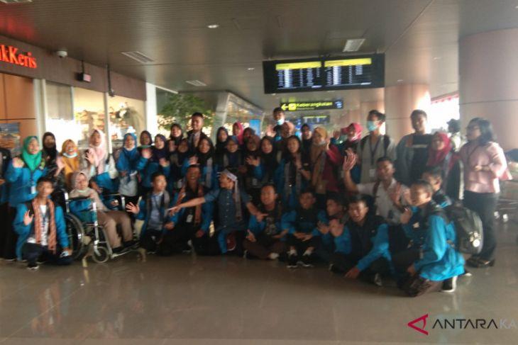 BUMN Hadir - Peserta SMN Kalbar kembali ke Jateng