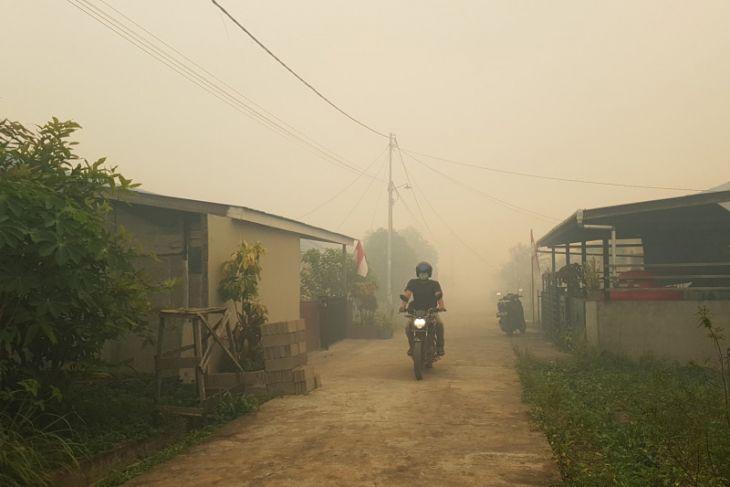 Kabut asap ganggu aktivitas ekonomi Kalbar