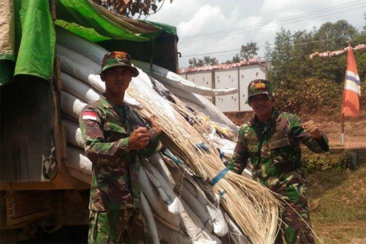 20 ton rotan ilegal berhasil disita