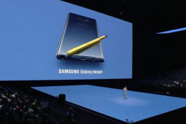 Samsung Galaxy Note 9 resmi diluncurkan
