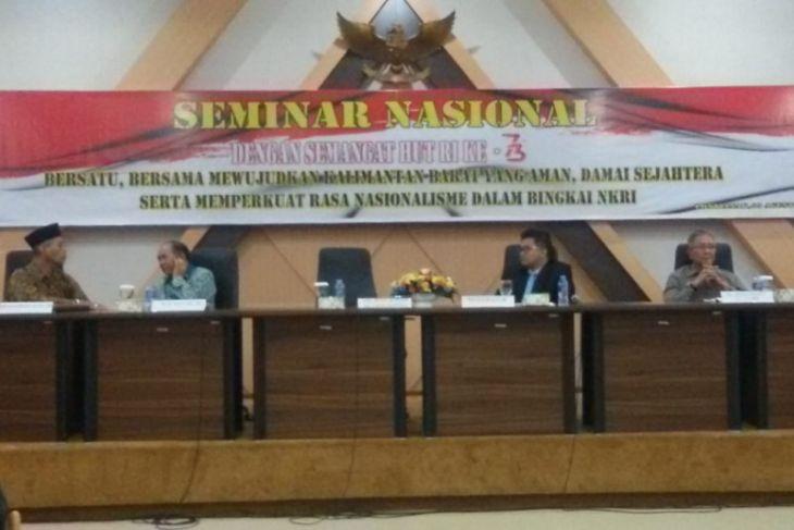 Seminar Nasional mewujudkan Kalbar aman dan damai