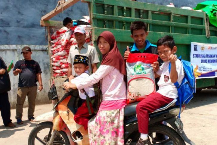 Operasi pasar beras medium di Ketapang