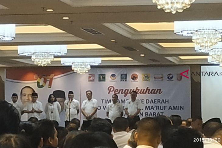 Pengukuhan Tim Kampanye Jokowi - KH Ma'ruf Amin daerah Kalbar