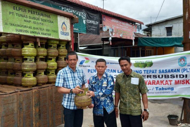 Agen gelar PLTS elpiji tiga kilogram di Kabupaten Kubu Raya