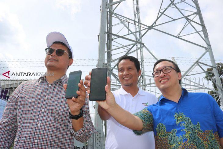 HPI Agro dan XL Axiata buka akses telekomunikasi di kawasan kebun sawit